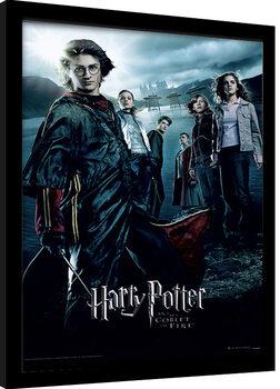 Zarámovaný plakát Harry Potter - Ohnivý Pohár