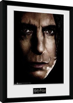 Zarámovaný plakát Harry Potter - Snape Face