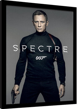 Zarámovaný plakát James Bond: Spectre - Colour Teaser