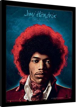 Zarámovaný plakát Jimi Hendrix - Both Sides of the Sky