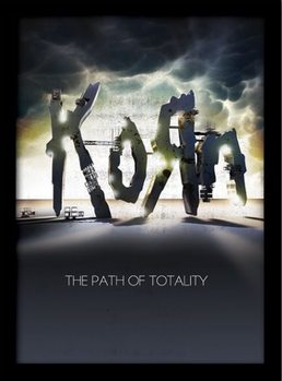 Oprawiony plakat KORN - the path of totality