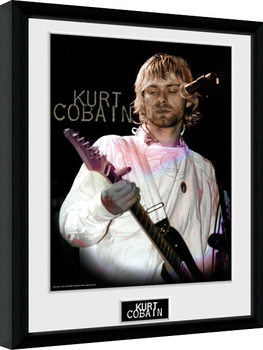 Zarámovaný plakát Kurt Cobain - Cook