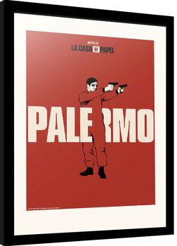 Zarámovaný plakát La Casa De Papel - Palermo