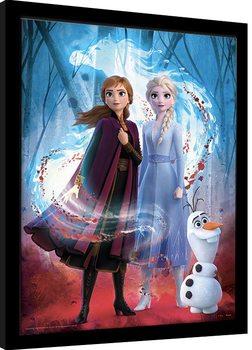 Zarámovaný plakát Ledové království 2 (Frozen) - Guiding Spirit