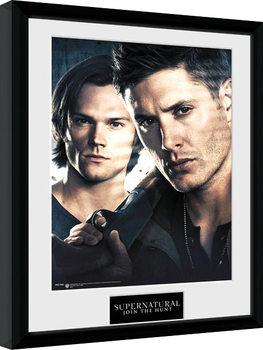 Zarámovaný plakát Lovci duchů - Brothers