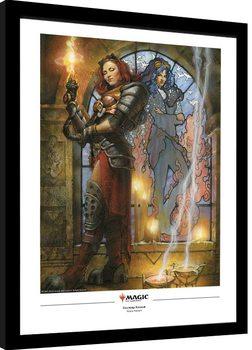 Oprawiony plakat Magic The Gathering - Chandra, Torch of Defiance