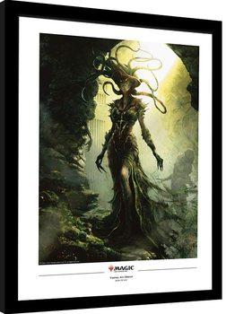 Oprawiony plakat Magic The Gathering - Vraska, The Unseen