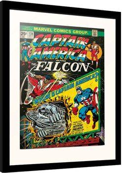 Zarámovaný plakát Marvel - Captain America