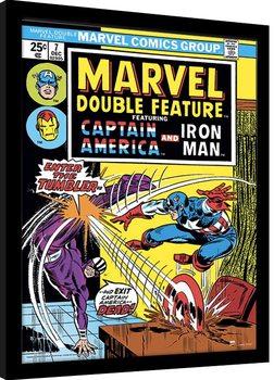 Oprawiony plakat Marvel Comics - Enter The Tumbler
