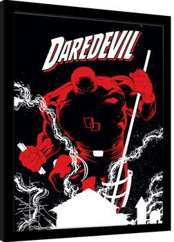 Oprawiony plakat Marvel Extreme - Daredevil