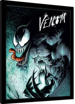 Oprawiony plakat Marvel Extreme - Venom
