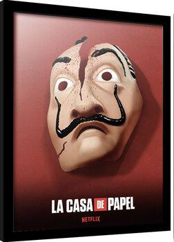 Zarámovaný plakát Money Heist (La Casa De Papel)
