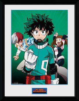 Zarámovaný plakát My Hero Academia