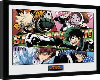 Zarámovaný plakát My Hero Academia - Powers