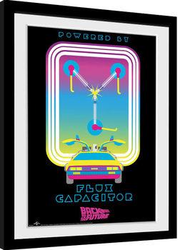 Zarámovaný plakát Návrat do budoucnosti - Flux Capacitor