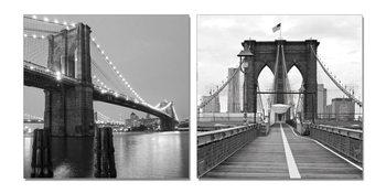 Obraz Pilíř šedého mostu