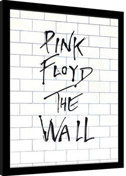 Oprawiony plakat Pink Floyd - The Wall Album