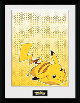 Zarámovaný plakát Pokemon - Pikxels