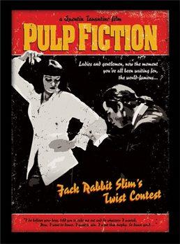 Zarámovaný plakát PULP FICTION: HISTORKY Z PODSVĚTÍ - twist contest
