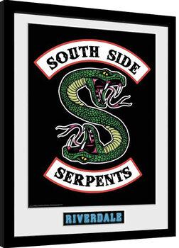 Zarámovaný plakát Riverdale - South Side Serpents