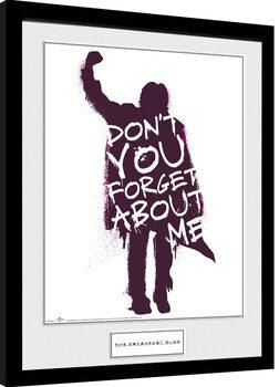 Zarámovaný plakát Snídaňový klub- Don't You Forget About Me