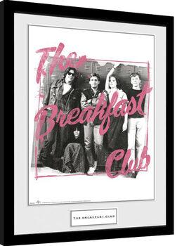 Zarámovaný plakát Snídaňový klub - The Breakfast Club