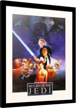 Oprawiony plakat Star Wars: Episode IV - Return of the Jedi