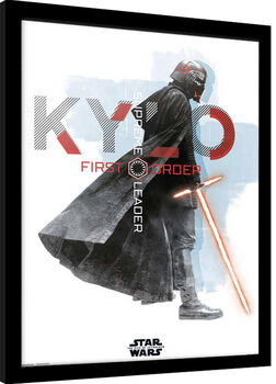 Zarámovaný plakát Star Wars: Episode IX - The Rise of Skywalker - Kylo Ren