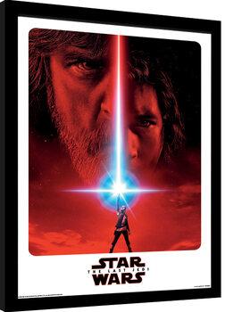 Zarámovaný plakát Star Wars: Epizoda VIII - Poslední z Jediů - Teaser