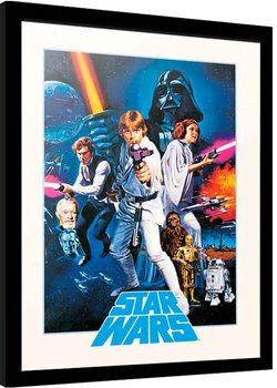 Oprawiony plakat Star Wars