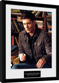 Zarámovaný plakát Supernatural - Dean