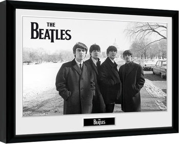 Oprawiony plakat The Beatles - Capitol Hill