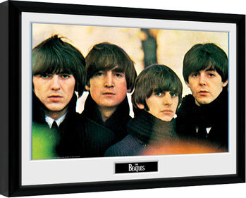 Oprawiony plakat The Beatles - For Sale