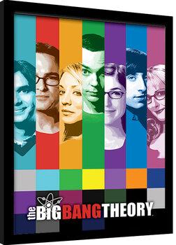 Zarámovaný plakát The Big Bang Theory (Teorie Velkého Třesku) - Signals