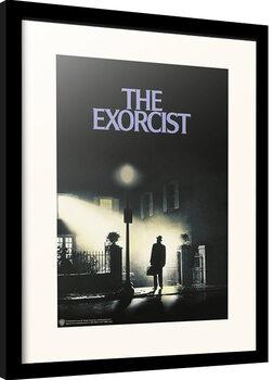 Oprawiony plakat The Exorcist
