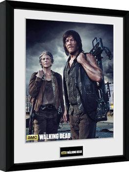 Zarámovaný plakát The Walking Dead - Carol and Daryl