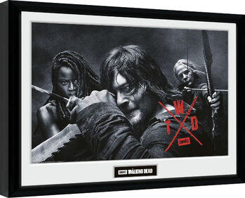 Zarámovaný plakát The Walking Dead - Season 10 Group