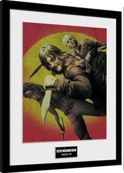 Zarámovaný plakát The Walking Dead - Season 10