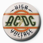 Odznaka AC/DC - HIGH VOLTAGE