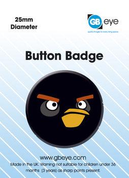 Przypinka Angry Birds - Black Bird S.O.S