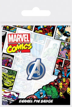 Przypinka Avengers - Logo