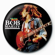 Odznaka BOB MARLEY - live