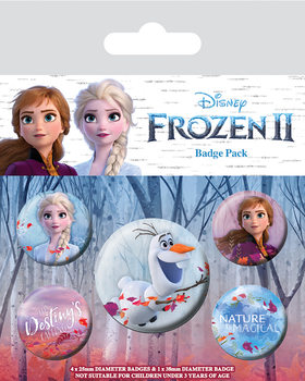 Zestaw przypinek Frozen 2