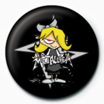 Odznaka METALLICA - bad girl GB