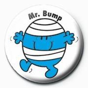 Odznaka MR MEN (Mr Bump)