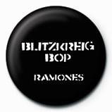 Odznaka RAMONES - Blitzkreig Bop