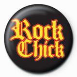 Odznaka ROCK CHICK - new