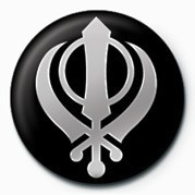 Odznaka SIKH (FAITH SYMBOL)