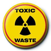 Odznaka TOXIC WASTE