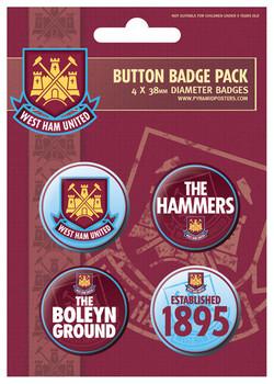 Odznaka WEST HAM UNITED - The hammers